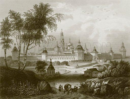 Troitzko-Sergiersky laurae. Payne's Universum (1847).