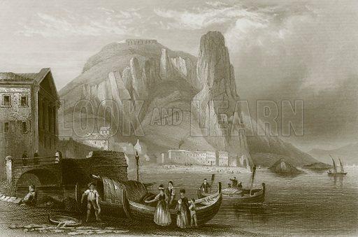 Terracina. Payne's Universum (1847).
