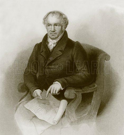 Alexander von Humboldt. Payne's Universum (1847).