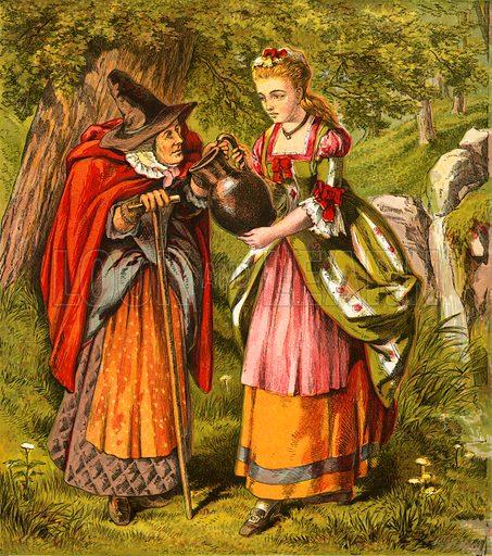 Diamonds and Toads. Aunt Louisa's Nursery Favourite (1870).
