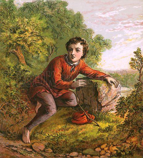Dick Whittington.  Aunt Louisa's Nursery Favourite (1870).