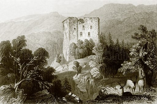 Merkenstein. Payne's Universum (1847).