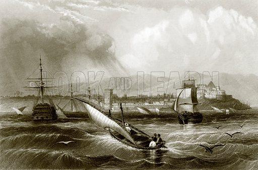 Mogador. Payne's Universum (1847).