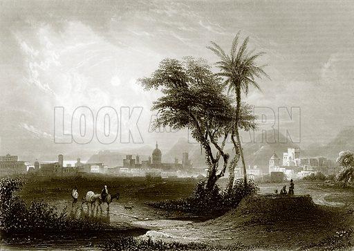 Palermo. Payne's Universum (1847).