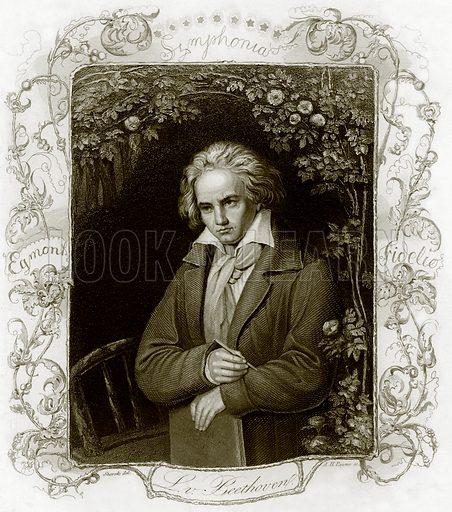 Beethoven. Payne's Universum (1847).