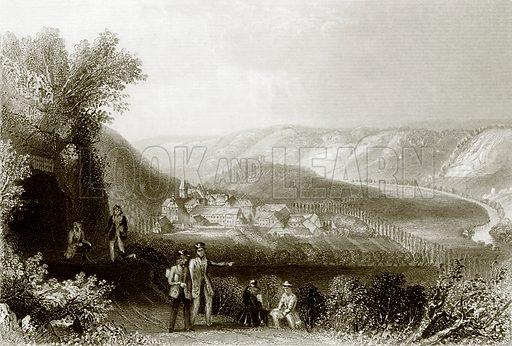 Schulpforte. Payne's Universum (1847).