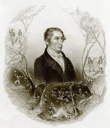 Karl Maria von Weber. Payne's Universum (1847).