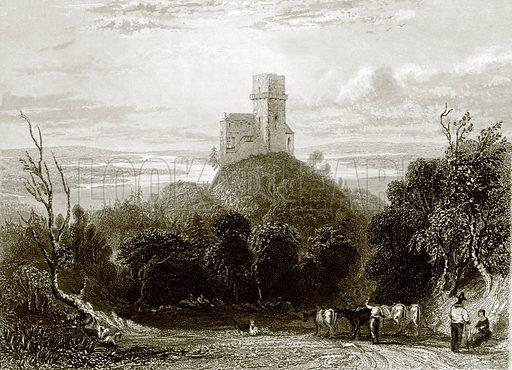 Greifenstein. Payne's Universum (1847).