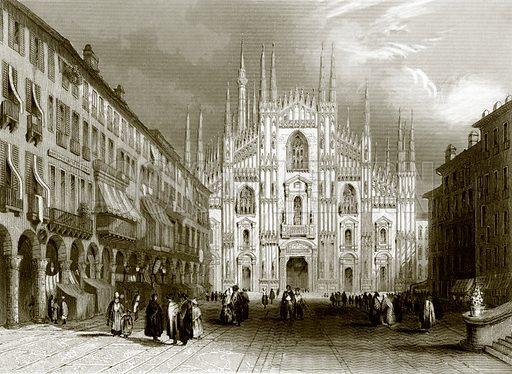 Milan Cathedral. Payne