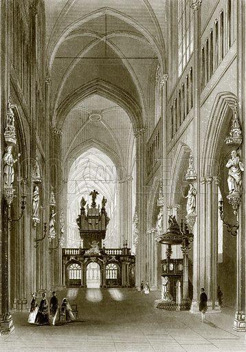 Church of St. Salvador, Bruges. Payne