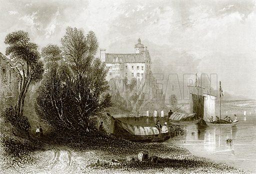 Persenburg. Payne's Universum (1847).