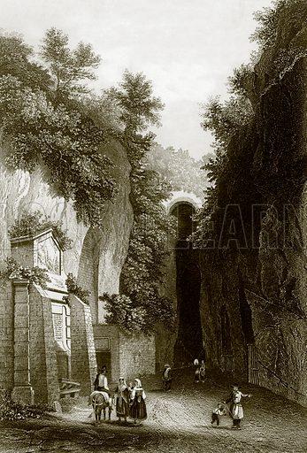 Grotto di Posilippo. Payne