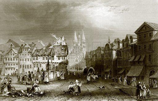 Brunswick. Payne's Universum (1847).