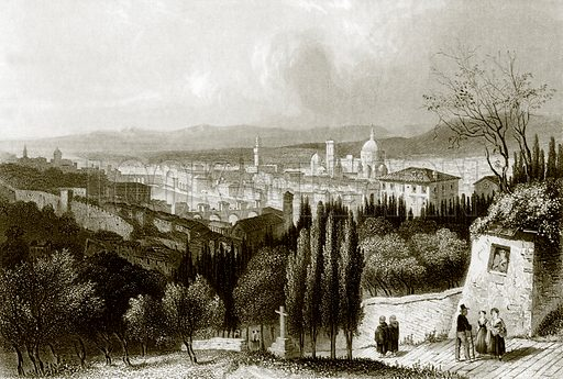 Florence. Payne's Universum (1847).