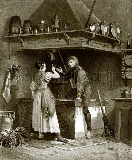 German chimney sweep. Payne's Universum (1847).