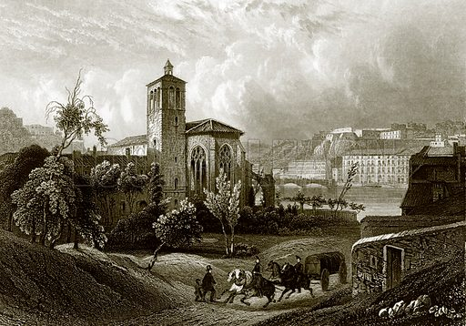 Lyons. Payne's Universum (1847).