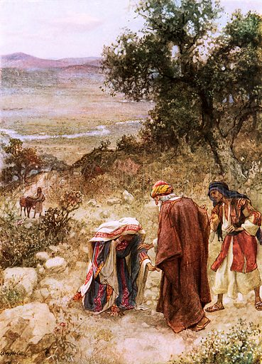 Elisha and the Shunammite. William Hole, Old Testament History (Eyre and Spottiswoode, c 1925 ).