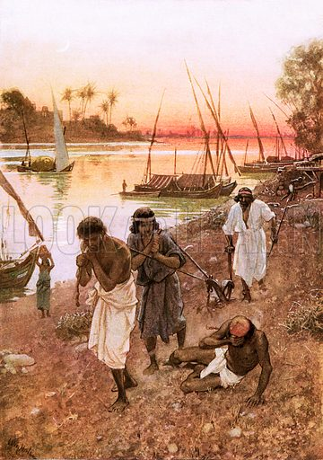 Babylonian captivity, picture, image, illustration