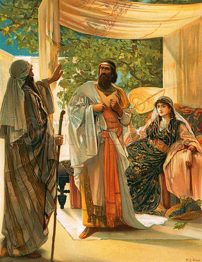 Ahab And Elijah