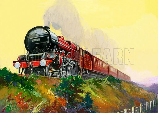 The Royal Scot, picture, image, illustration