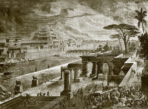 Babylon taken by the army of Cyrus the great. Cassell