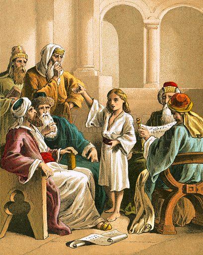 Jesus disputing with the doctors