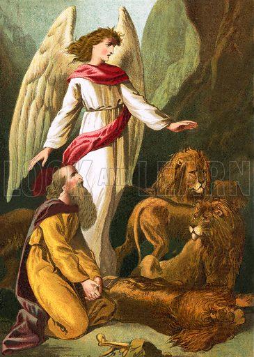 Daniel in the den of lions