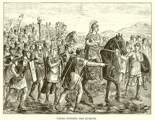 Caesar crossing the Rubicon