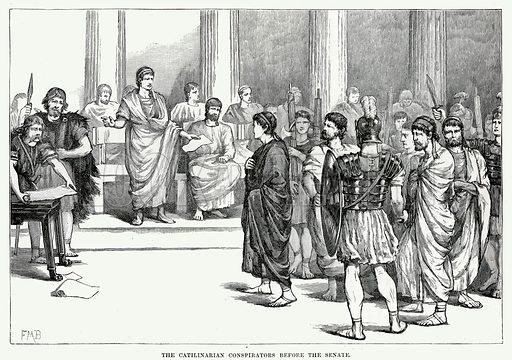 Catiline, picture, image, illustration