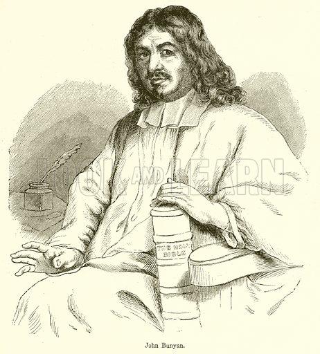 John Bunyan. Illustration from John Cassell