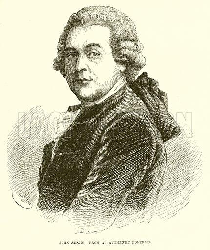 John Adams. Illustration from John Cassell