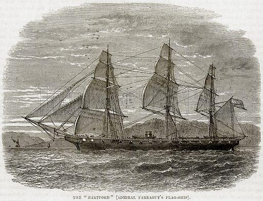 "The ""Hartford"" (Admiral Farragut"