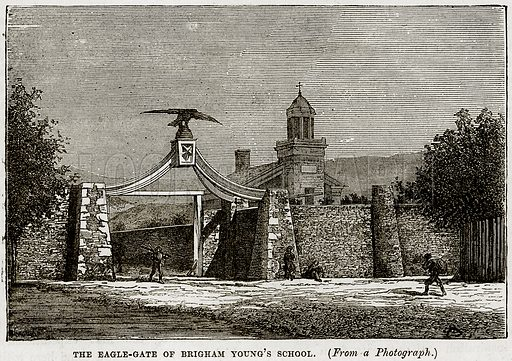 The Eagle-Gate of Brigham Young