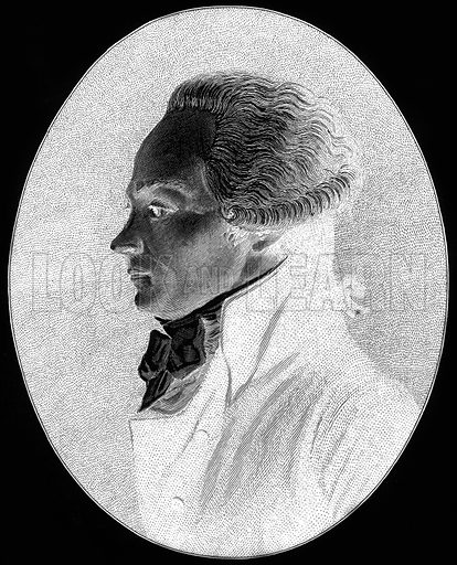 Robespierre. Illustration from Old and New Paris by H Sutherland Edwards (Cassell, 1893).
