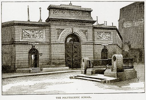 The Polytechnic School. Illustration from Old and New Paris by H Sutherland Edwards (Cassell, 1893).