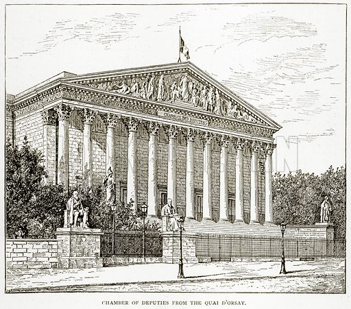 Chamber of Deputies from the Quai D