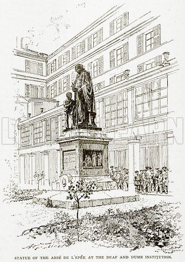 Statue of the Abbe de L