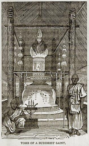 Tomb of a Buddhist Saint. Illustration from Error