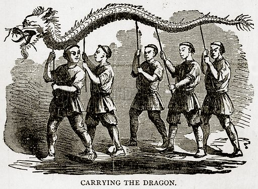 Carrying the Dragon. Illustration from Error