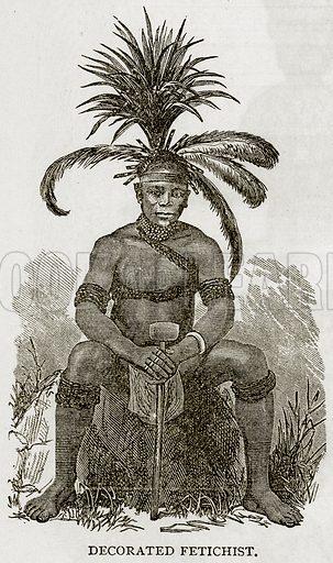 Decorated Fetichist. Illustration from Error