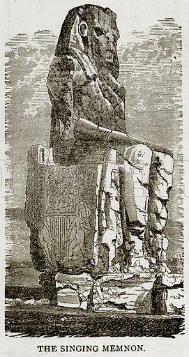 The Singing Memnon. Illustration from Error