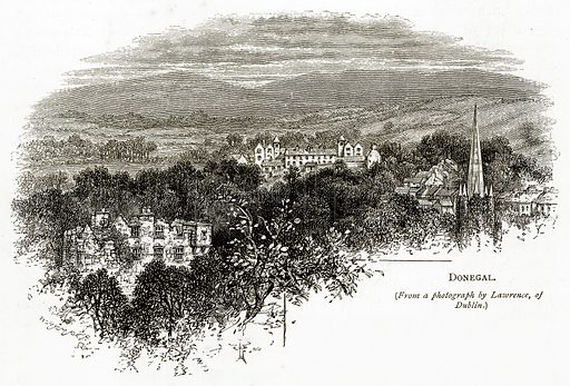 Donegal. Illustration from Irish Pictures by Richard Lovett (Religious Tract Society, 1888).