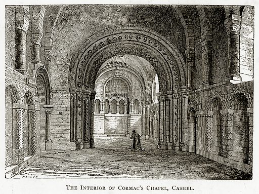 The interior of Cormac