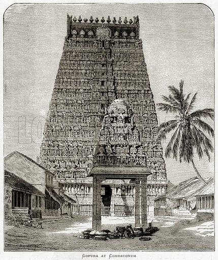 Gopura at Combaconum.