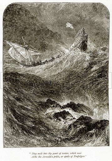 """""""They melt into thy Yeast of Waves, which Mar Alike the Armada"""