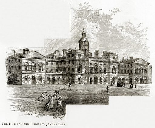 The Horse Guards from St. James