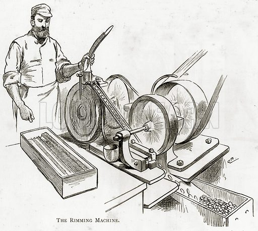 The Rimming Machine. Illustration from London Pictures by Richard Lovett (Religious Tract Society, 1890).