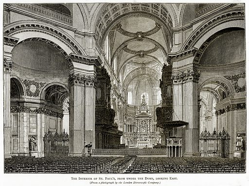 The interior of St. Paul