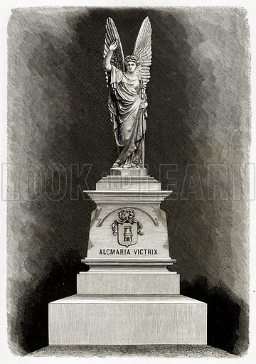 Alcmaria Victrix. Illustration from Pictures from Holland by Richard Lovett (Religious Tract Society, 1887).