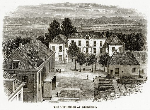 The Orphanage at Neerbosch. Illustration from Pictures from Holland by Richard Lovett (Religious Tract Society, 1887).